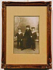 Portraits de famille vers 1910.