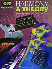 Harmony And Theory Learn to Play Pop Rock Guitar Lesson Scales Music Book