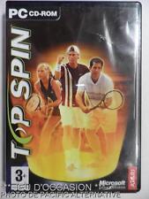 incomplet: Jeu TOP SPIN pour PC francais game tennis sport atari microsoft spiel