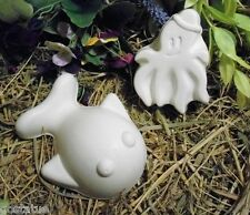 poly plastic molds whale & octopus mold great for all types of  casting