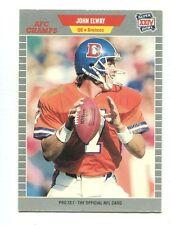 1989 Pro Set GTE Super Bowl #100 John Elway Denver Broncos