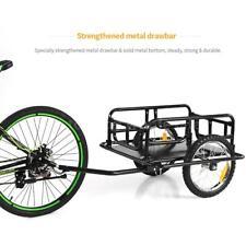 Bicycle Bike Shopping Cargo Trailer Luggage Carrier Storage Cart Wheel Garden