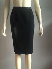 Dolce and Gabbana, AUTHENTIC, TAG SIZE (40), BLACK SKIRT