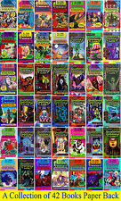 Give Yourself Goosebumps Books Set-Brand New 42 Horror Books Collection(English