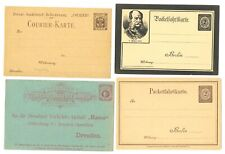 GERMANY -LOCAL-PRIVATPOST =4 x PS CARD --VF