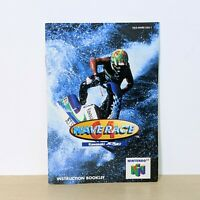 Wave Race 64 Nintendo 64 N64 Original Instruction Booklet Manual
