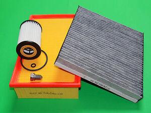 Ölfilter Luftfilter Aktivkohle Pollenfilter VW Passat 3G 1.6 TDI (88kW/120PS)