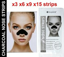 Charcoal Nose Pore Cleansing Strip Black Head Remover Deep Clean nu-pore