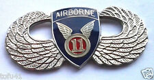 11th AIRBORNE WINGS  Military Veteran US ARMY Hat Pin P62842 EE