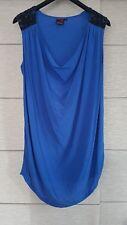 Maurie And Eve Platinum Blue Silk Dress Size 0 (6-8)
