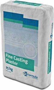 Fine Casting Plaster of Paris 25kg Formula Saint Gobain