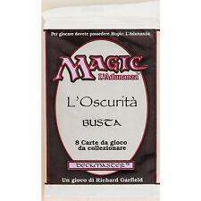 MTG: Italian THE DARK Sealed Booster Pack - Magic the Gathering L'Oscurítá Bustá