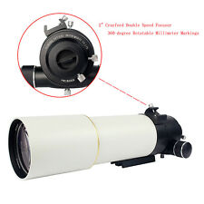 "2'' Refractor Astronomical Telescope OTA for DSLR Photograph w/ 1.25"" Adapter CO"