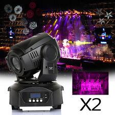 2Pcs 60W Elektronische Fokus LED Moving Head DJ Spot Licht DMX Bühne Scheibe