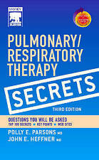 NEW Pulmonary/Respiratory Therapy Secrets with STUDENT CONSULT Access