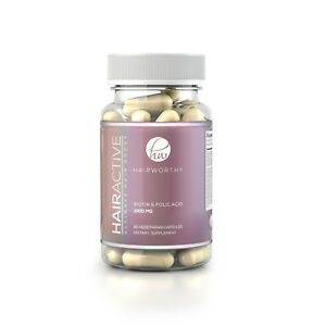 Hairworthy - 100% FASTER Growth. 60 Healthy Vitamins for Longer & Thicker Hair.