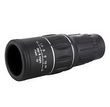 Compact Monocular Zoom Optic 16x52 Camping Hunting Hiking HD Day & Night Vision