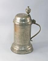 99833200  Bierkrug Humpen Walzenkrug Zinn 1833