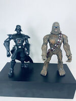 "Star Wars Mixed Lot - Darth Vader Action Figure 8"" - Hasbro 2005 Chewbacca 8"""