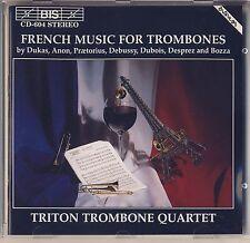 Dukas, Anon, Debussy, Dubois - Triton Quartet: French Trombone Music Like New