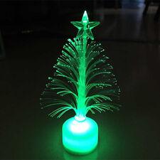 Colorful LED Fiber Optic Nightlight Christmas Tree Lamp Light Children Xmas Hot