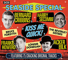 3 CD SEASIDE SPECIAL CRIBBINS SECOMBE FORSYTH DONEGAN BILK HOWERD BASSEY STEEL