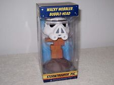 Funko Star Wars Angry Birds Wacky Wobbler Stormtrooper Pig Bobble Head