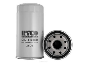 Ryco Oil Filter Z600 fits Isuzu D-Max 3.0 D, 3.0 D (RA,RC), 3.0 D 4x4, 3.0 D ...