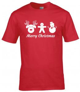 Christmas Kids Children T-Shirt Girls Boys Christmas Xmas Gift Tee Top