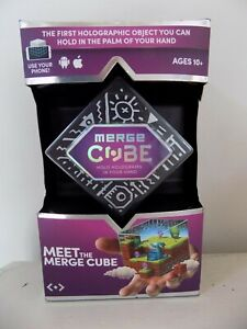 NEW Merge Cube Holograms In The Palm of Your Hand AV/VR Holograms