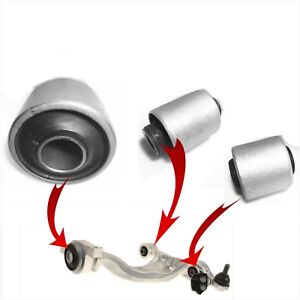 3 Front Lower Control Arm Bushings for 2008-2009-2010-2011-2012 INFINITI EX35