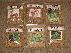 1l - 3l QUALITY SMOKING WOOD CHIPS Alder,Apple,Beech,Cherry,Oak For Food Smoking
