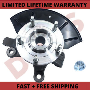 Front Left /& Right Wheel Bearing Hub Steering Knuckle Assembly For Ford Escape Mazda 2001-2004