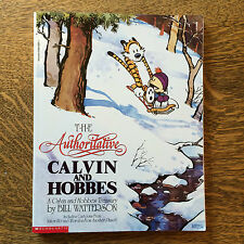 The Authoritative Calvin and Hobbes Bill Watterson Scholastic Version Soft Cover