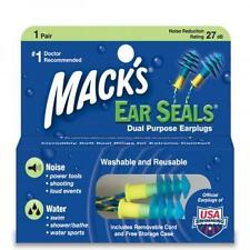 Mack's Ear Seals Earplugs With Carrying Case - 1 pair