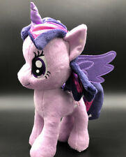 "My Little Pony Twilight Sparkle Unicorn Purple Plush Stuffed Animal 11"" Purple"