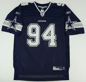Reebok On Field Dallas Cowboys DeMarcus Ware 94 Men's Large NFL Players Jersey