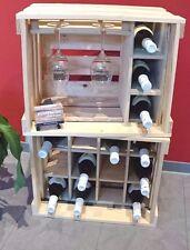 Weinregal, Weinständer, Weinschrank, Weinkiste, Flaschenregal, Regal, Wein,Sekt