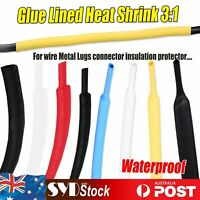 Waterproof Adhesive Heat Shrink 3:1 Tubing Wire Sleeving USB Cable Wrap Protect
