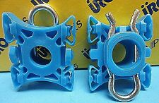 Set 4 Window Regulator/Roller Sliding Pivot W. Clip Replace Volvo OEM# 3509416