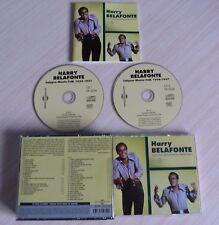 BOX 2 CD ALBUM CALYPSO MENTO FOLK 1954 1957 HARRY BELAFONTE 40 TITRES 2009