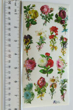 Antique Collection Violette Stickers - FLOWER STEMS - 1 Large Sheet C132
