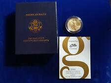 🌟2006-W American Gold Eagle (1/2 oz) $25 - Burnished