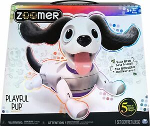 Zoomer Playful Pup Interactive Toy Dog 5+ Spinmaster Voice Recognition