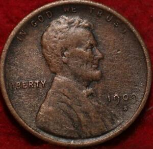 1909-S San Francisco Mint Copper Lincoln Wheat Cent