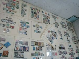 Nystamps Mexico area many mint stamp collection Scott page