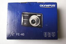 Olympus FE-46 12MP Digital Camera w/ 8GB microSD Card/Adapter/Cables/CD/Manuals/