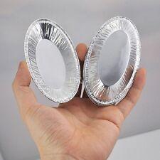 1000 Pcs Oval Disposable Aluminum Foil Cup Case Muffin Cupcake Baking Tins Pans