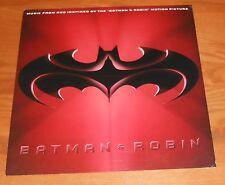 Batman & Robin R.E.M. 2-Sided Flat Square 1997 Promo Poster 12 x 12