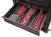 26 PCS Magnetic Socket Holder Portable Tool Box Organizer Sorter Rack Craftsman